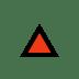 🔼 upwards button Emoji on Windows Platform
