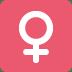 ♀️ female sign Emoji on Windows Platform