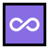 ♾️ infinity Emoji on Windows Platform