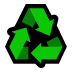 ♻️ recycling symbol Emoji on Windows Platform