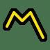 〽️ Part Alternation Mark Emoji on Windows Platform