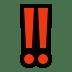 ‼️ double exclamation mark Emoji on Windows Platform