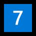 7️⃣ keycap: 7 Emoji on Windows Platform