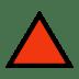 🔺 red triangle pointed up Emoji on Windows Platform