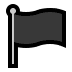 🏴 black flag Emoji on Windows Platform