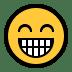 😁 Beaming Face With Smiling Eyes Emoji on Windows Platform