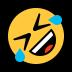 🤣 Tumbado en el suelo por la risa Emoji en la plataforma de Windows