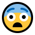 😨 fearful face Emoji on Windows Platform