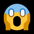 😱 face screaming in fear Emoji on Windows Platform