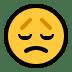 😞 Disappointed Face Emoji on Windows Platform