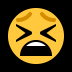 😫 tired face Emoji on Windows Platform
