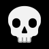 💀 Skull Emoji on Windows Platform