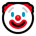 🤡 Clowngezicht Emoji op Windows Platform