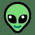 👽 alien Emoji on Windows Platform