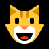 😺 grinning cat Emoji on Windows Platform
