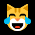 😹 Cat With Tears of Joy Emoji on Windows Platform
