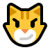 😼 cat with wry smile Emoji on Windows Platform