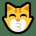 😽 kissing cat Emoji on Windows Platform