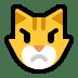 😾 pouting cat Emoji on Windows Platform
