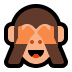 🙈 see-no-evil monkey Emoji on Windows Platform