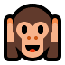 🙉 hear-no-evil monkey Emoji on Windows Platform