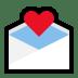 💌 love letter Emoji on Windows Platform