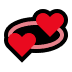 💞 revolving hearts Emoji on Windows Platform