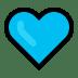 💙 blue heart Emoji on Windows Platform