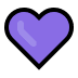 💜 purple heart Emoji on Windows Platform