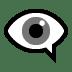 👁️🗨️ eye in speech bubble Emoji on Windows Platform