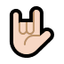 🤟🏻 love-you gesture: light skin tone Emoji on Windows Platform