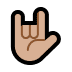 🤟🏼 love-you gesture: medium-light skin tone Emoji on Windows Platform