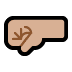 🤛🏼 left-facing fist: medium-light skin tone Emoji on Windows Platform