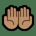 🤲🏽 Medium Skin Tone Palms Up Together Emoji on Windows Platform