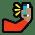 🤳🏽 selfie: medium skin tone Emoji on Windows Platform